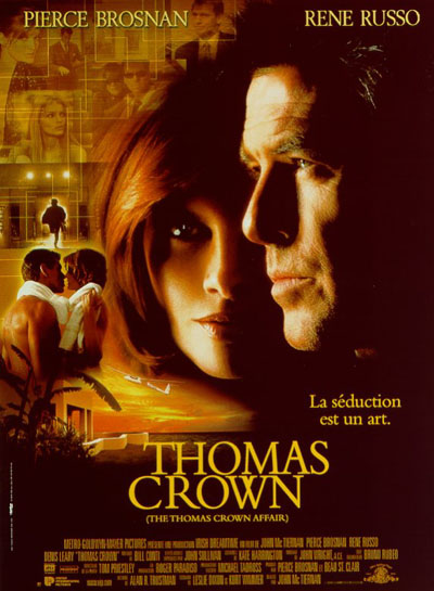 affiche du film Thomas Crown (1999)