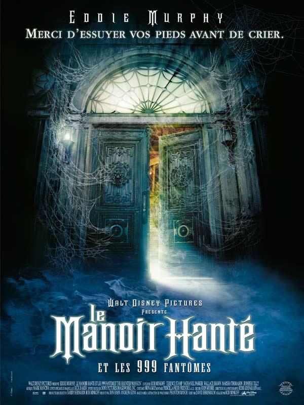 affiche du film Le manoir hanté et les 999 fantômes