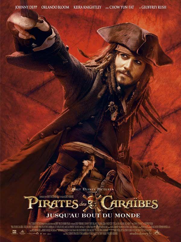 affiche du film Pirates des Caraïbes : Jusqu'au bout du monde