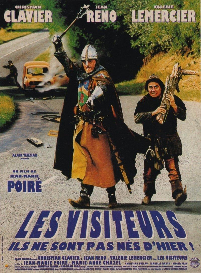 affiche du film Les Visiteurs
