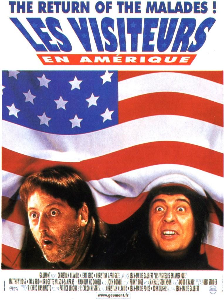 affiche du film Les Visiteurs en Amérique