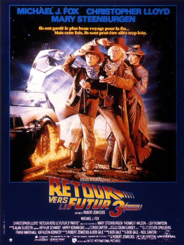 affiche du film Retour vers le futur III