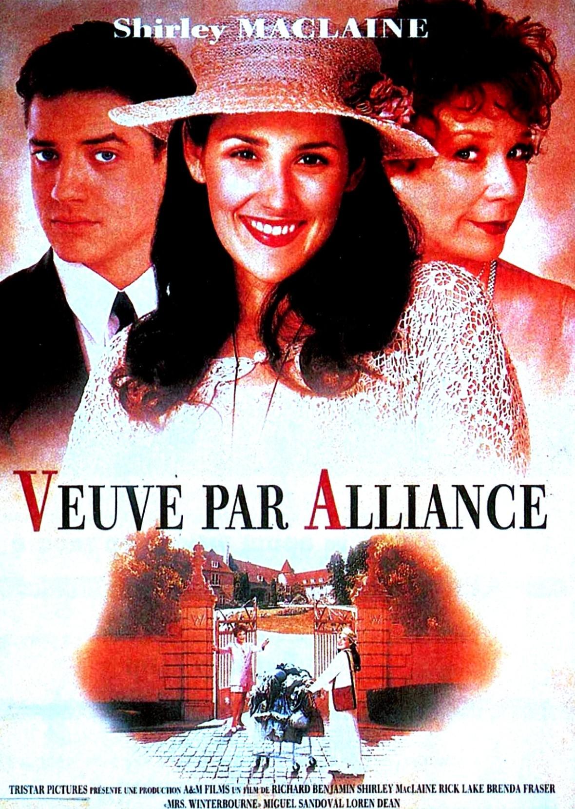 affiche du film Veuve par alliance
