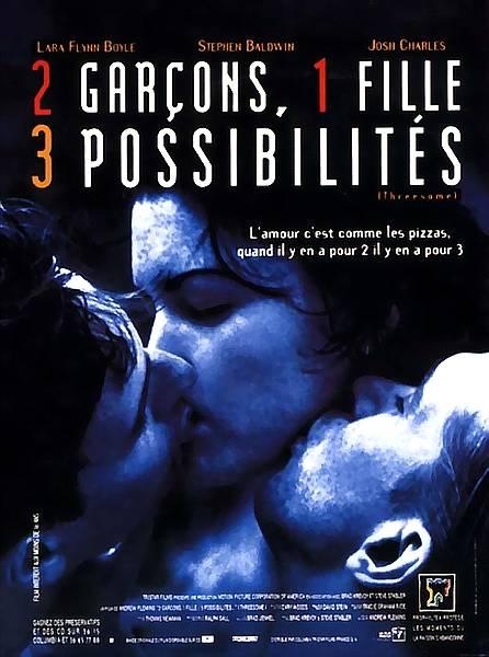 affiche du film 2 garçons, 1 fille, 3 possibilités