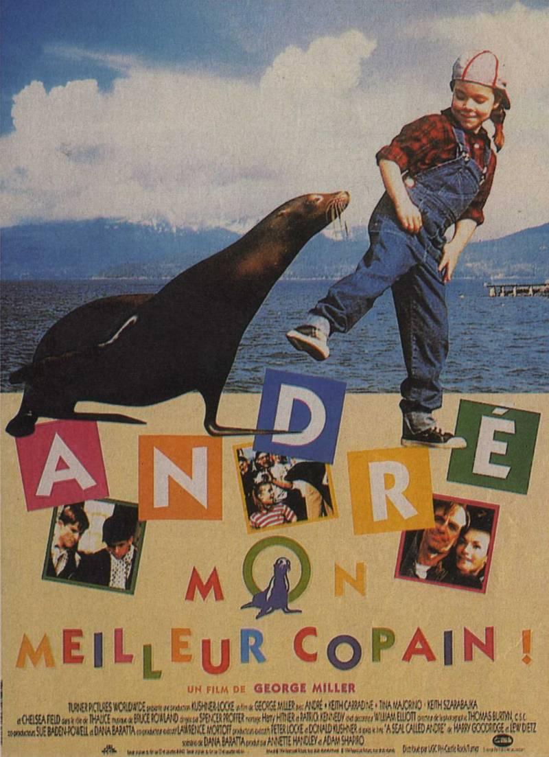 affiche du film André, mon meilleur copain