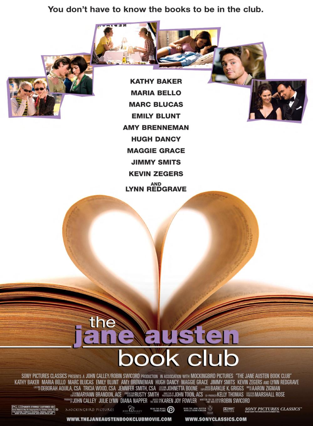 affiche du film Lettre ouverte à Jane Austen