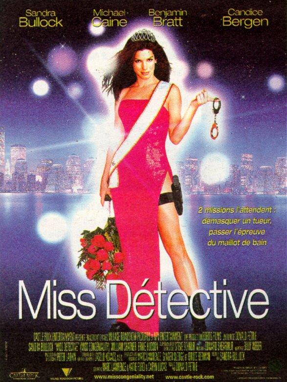 affiche du film Miss Détective