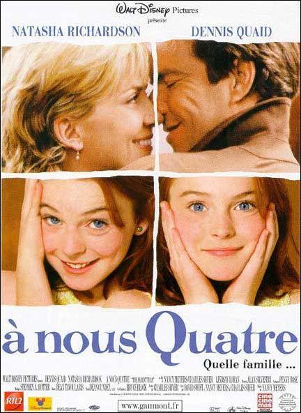 affiche du film À nous quatre