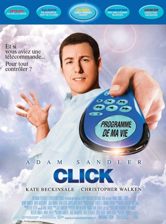 affiche du film Click : télécommandez votre vie