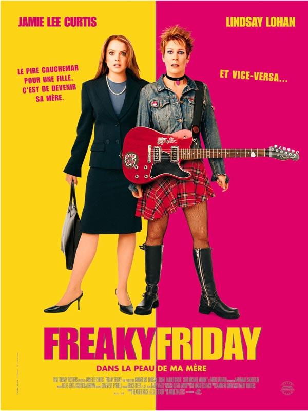 affiche du film Freaky Friday : Dans la peau de ma mère