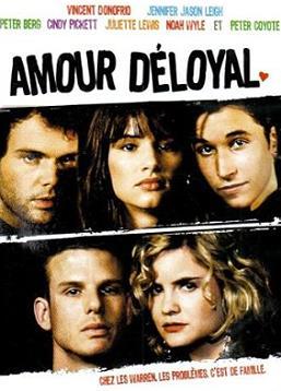 affiche du film Amour déloyal