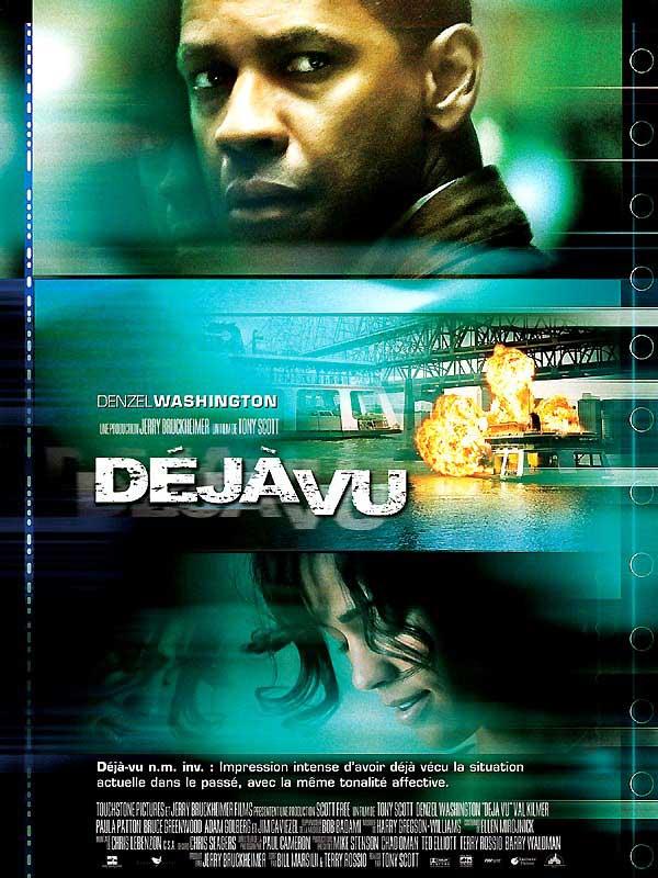 affiche du film Déjà vu