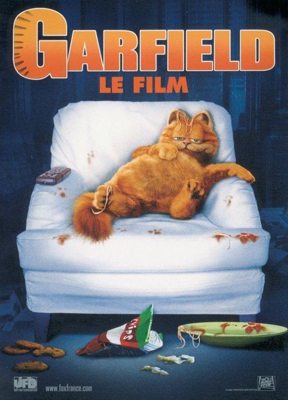 affiche du film Garfield, le film
