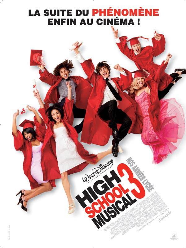 affiche du film High School Musical 3 : Nos années lycée