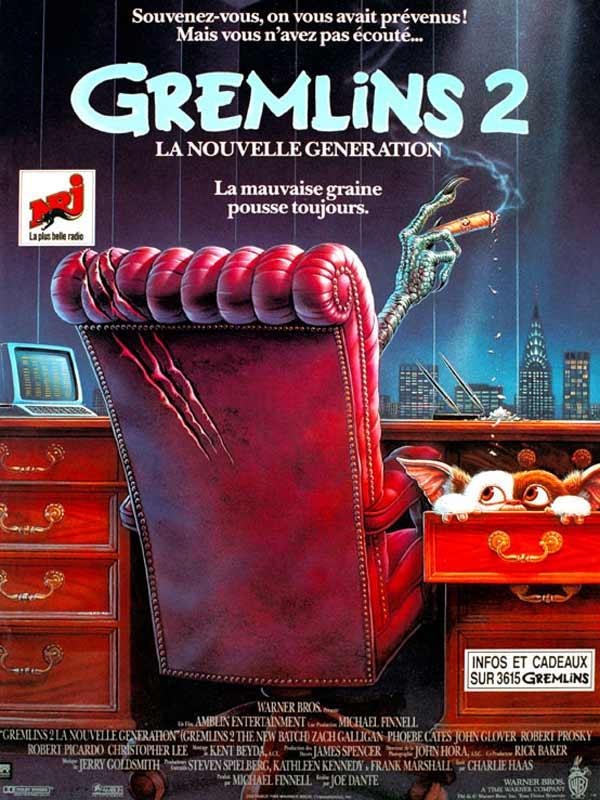 affiche du film Gremlins 2 : La nouvelle génération