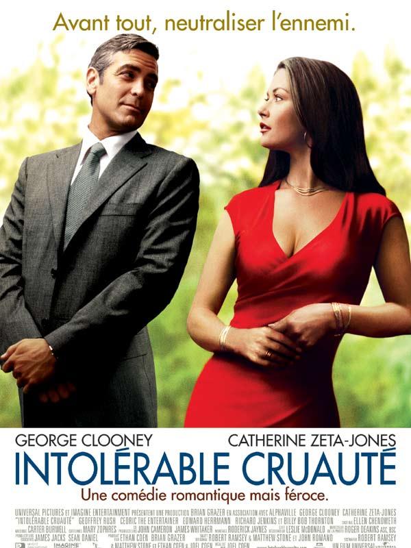 affiche du film Intolérable cruauté
