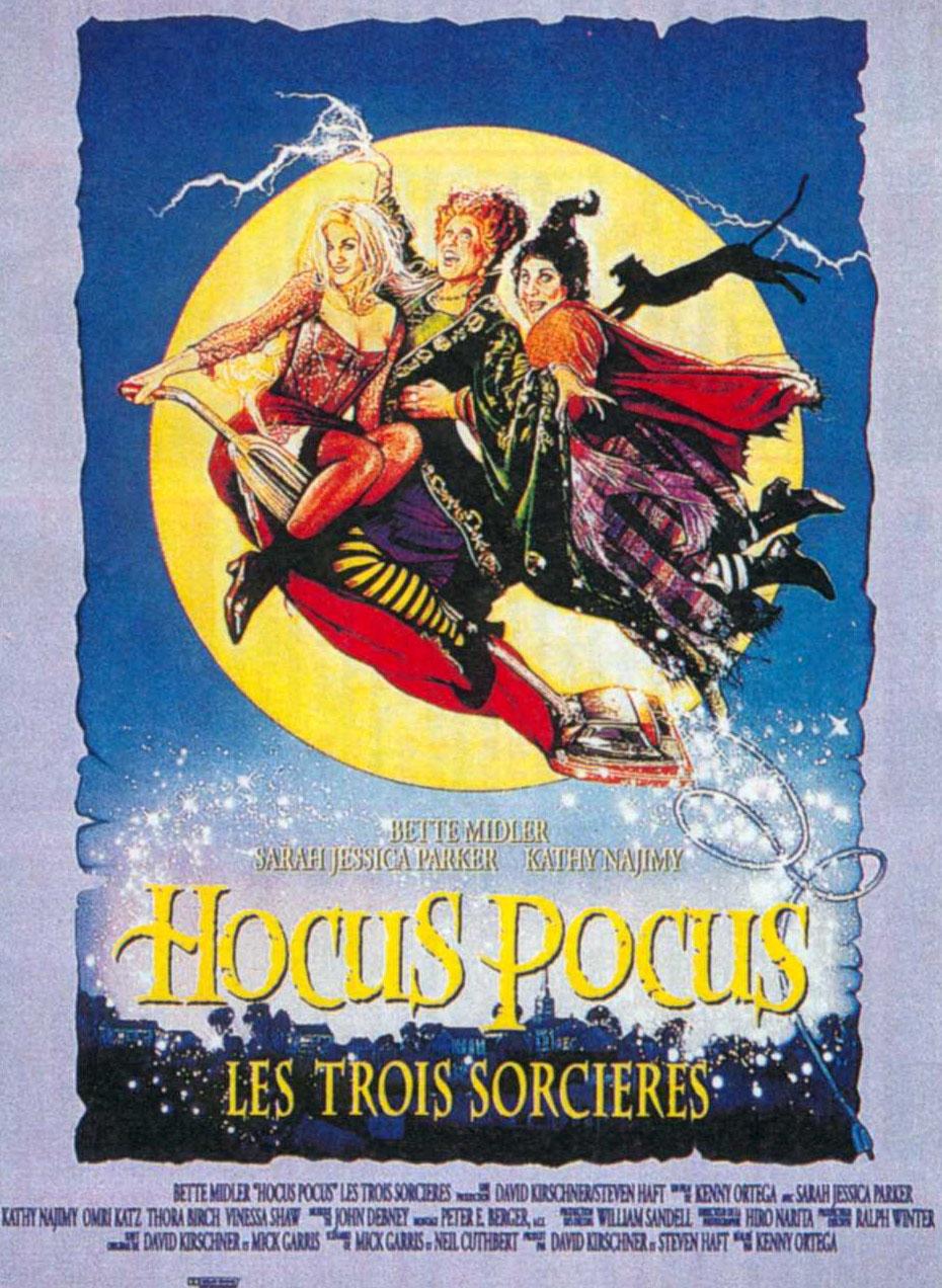 affiche du film Hocus Pocus : Les trois sorcières