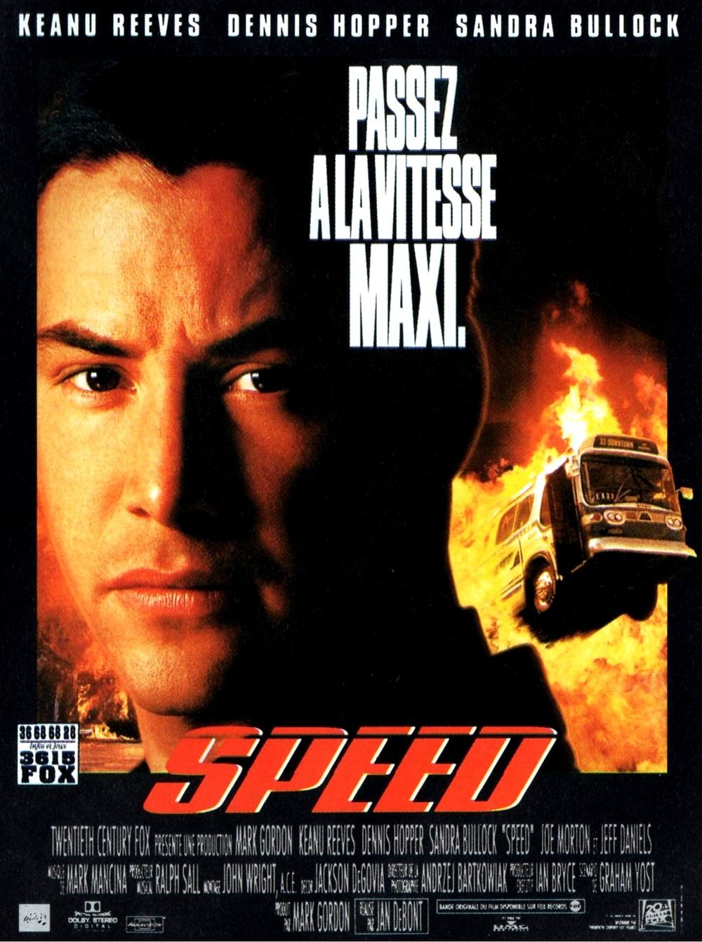 affiche du film Speed