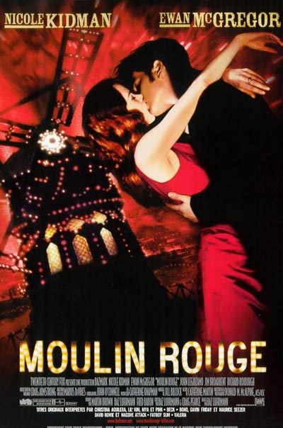 affiche du film Moulin Rouge (2001)