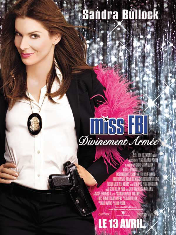 affiche du film Miss FBI 2 : Divinement armée