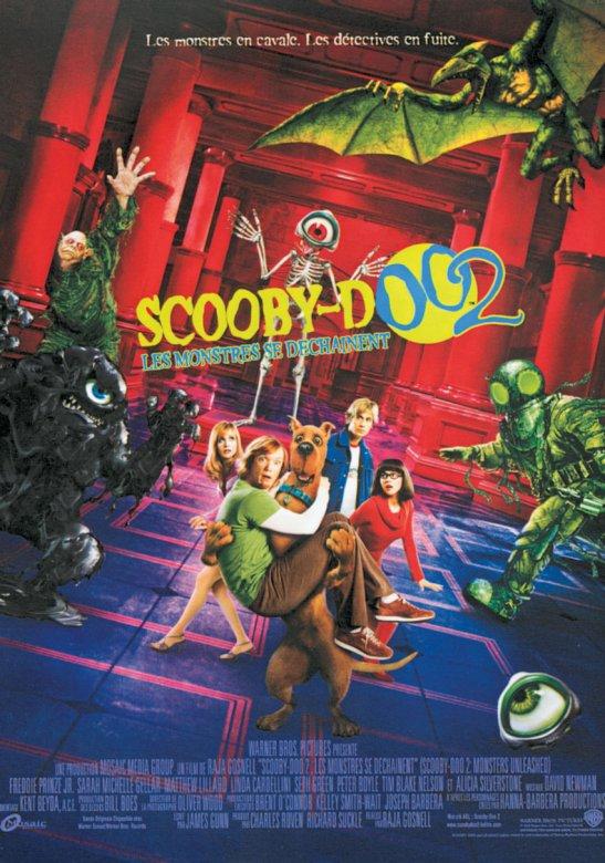 affiche du film Scooby-Doo 2 : Les monstres se déchaînent