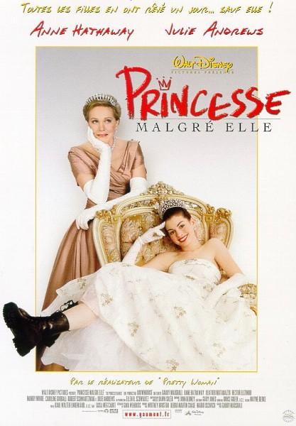 affiche du film Princesse malgré elle
