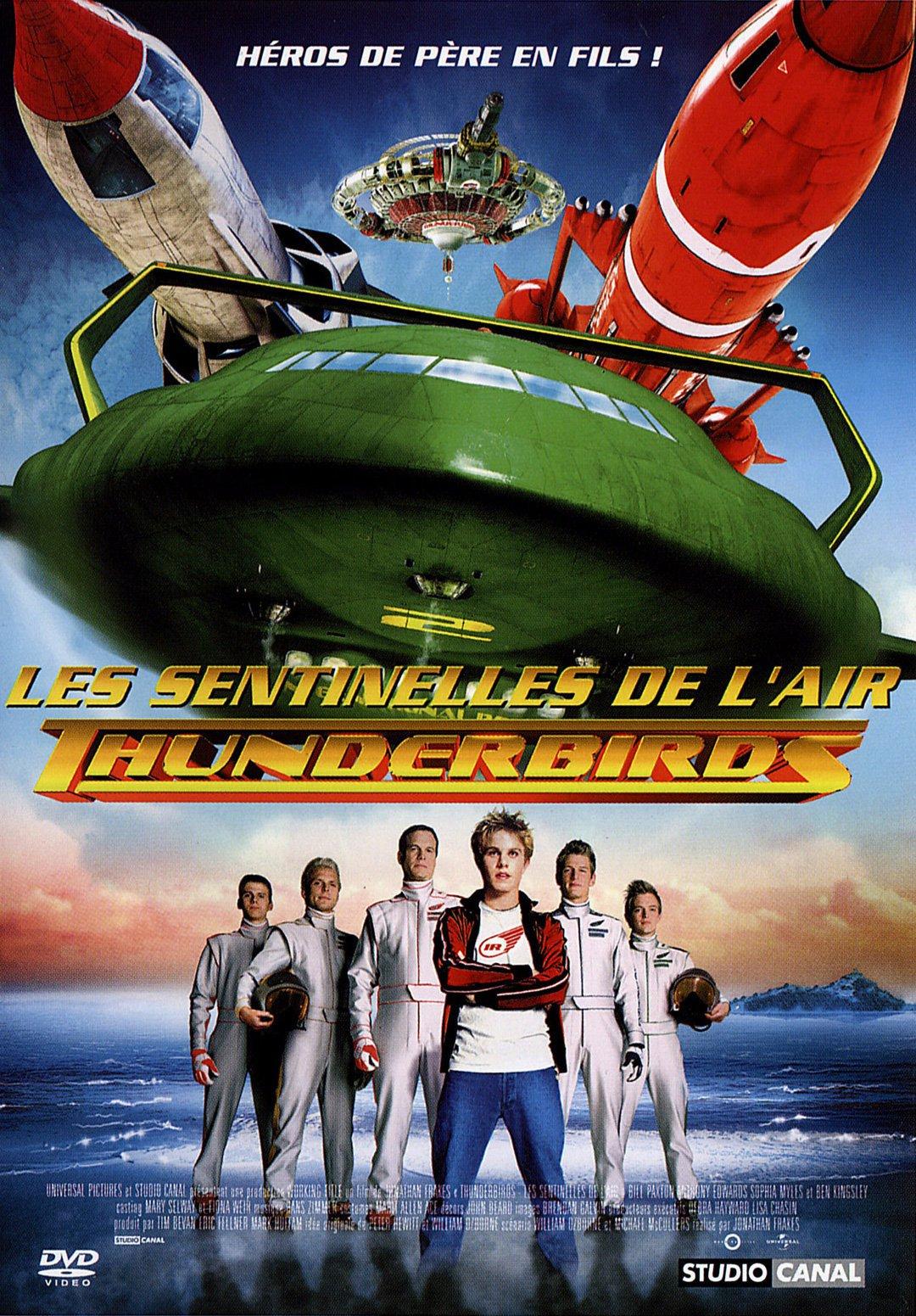 affiche du film Thunderbirds: Les sentinelles de l'air