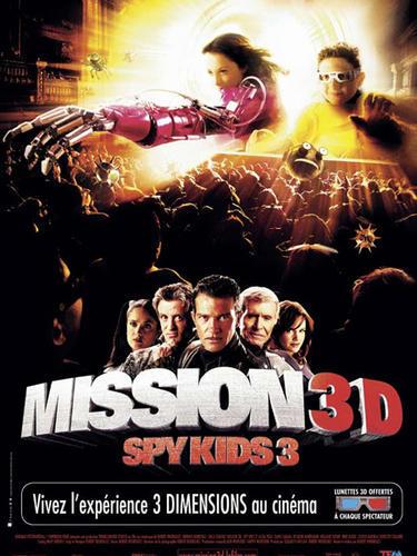 affiche du film Spy Kids 3 : Mission 3D
