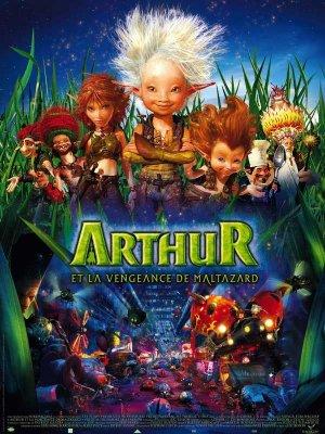 affiche du film Arthur et la vengeance de Maltazard