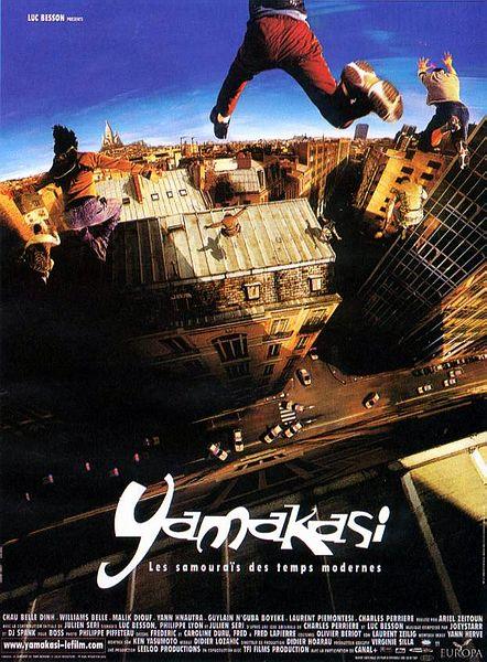 affiche du film Yamakasi : Les samouraïs des temps modernes