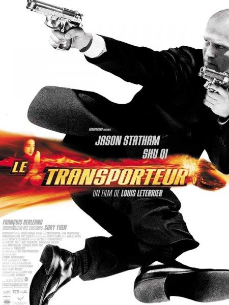 affiche du film Le transporteur