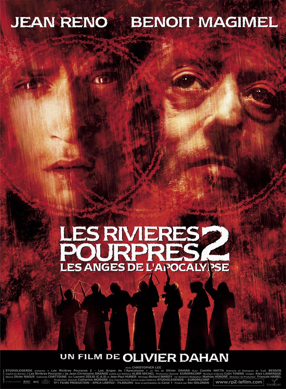 affiche du film Les Rivieres Pourpres 2 :  Les anges de l'apocalypse