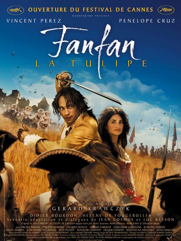 affiche du film Fanfan la Tulipe (2003)