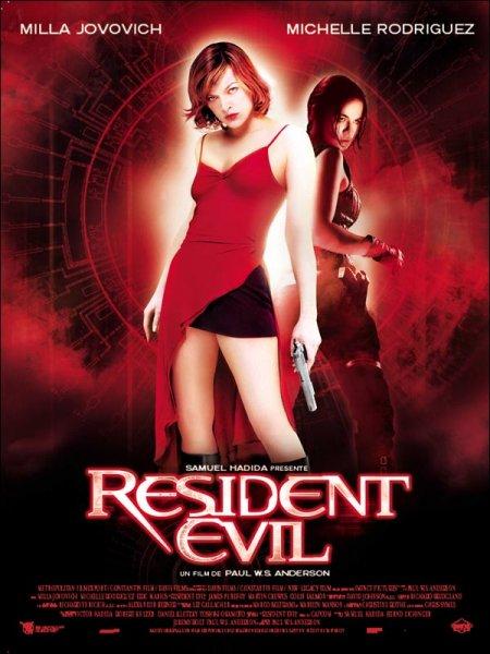 affiche du film Resident Evil