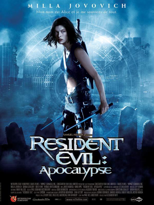 affiche du film Resident Evil: Apocalypse