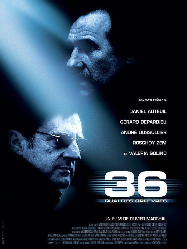affiche du film 36 Quai des Orfèvres