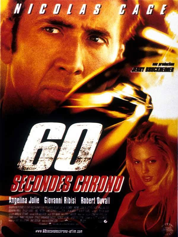 affiche du film 60 Secondes Chrono
