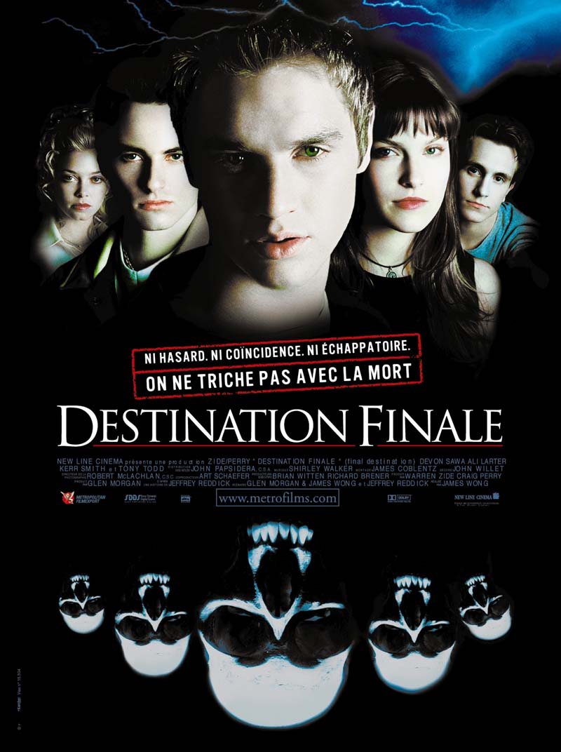 affiche du film Destination finale