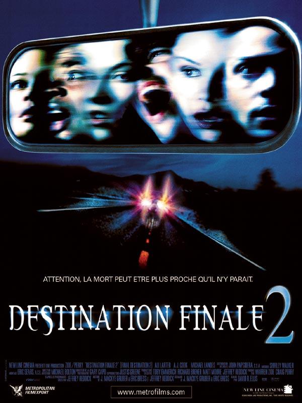 affiche du film Destination finale 2