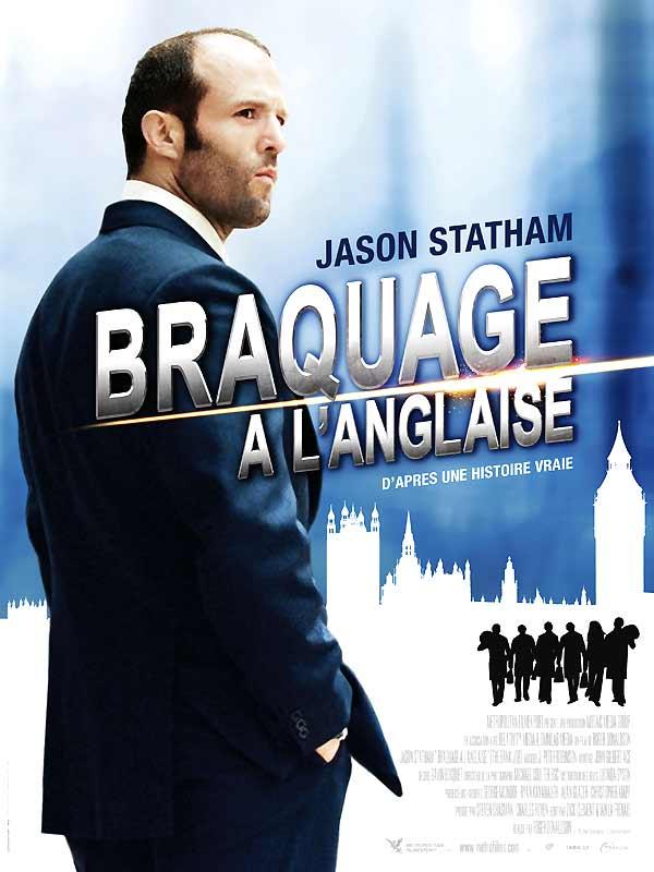 affiche du film Braquage à l'anglaise
