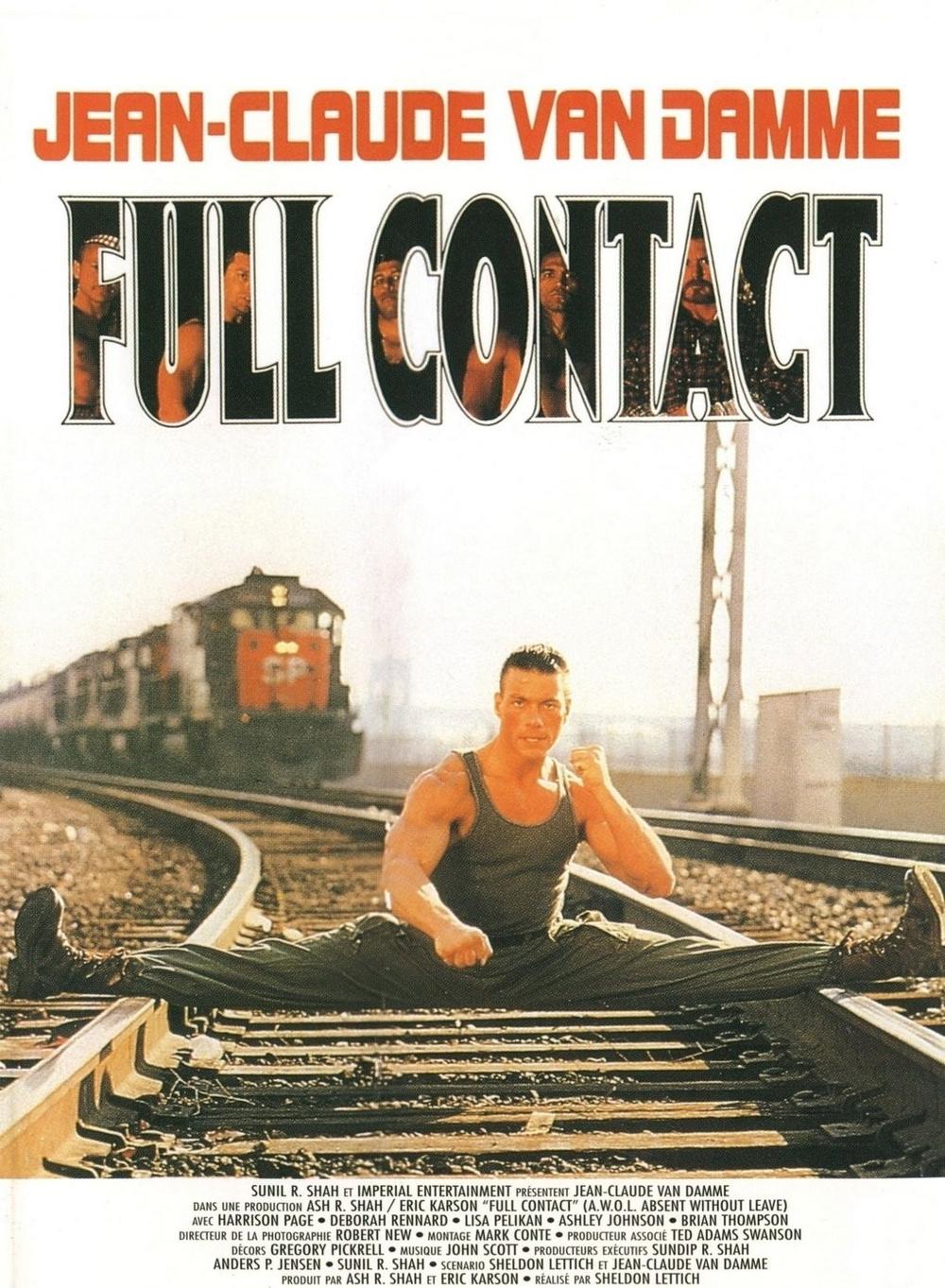 affiche du film Full Contact (1990)