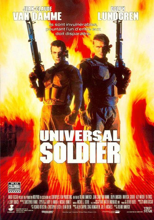 affiche du film Universal Soldier
