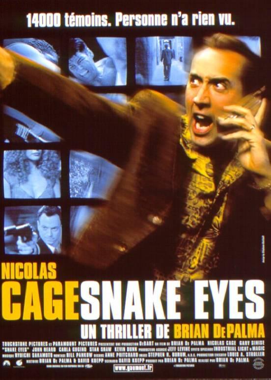 affiche du film Snake Eyes (1998)
