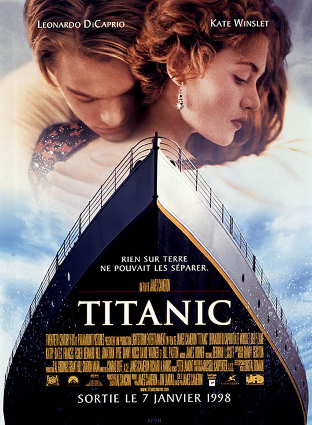 affiche du film Titanic (1997)