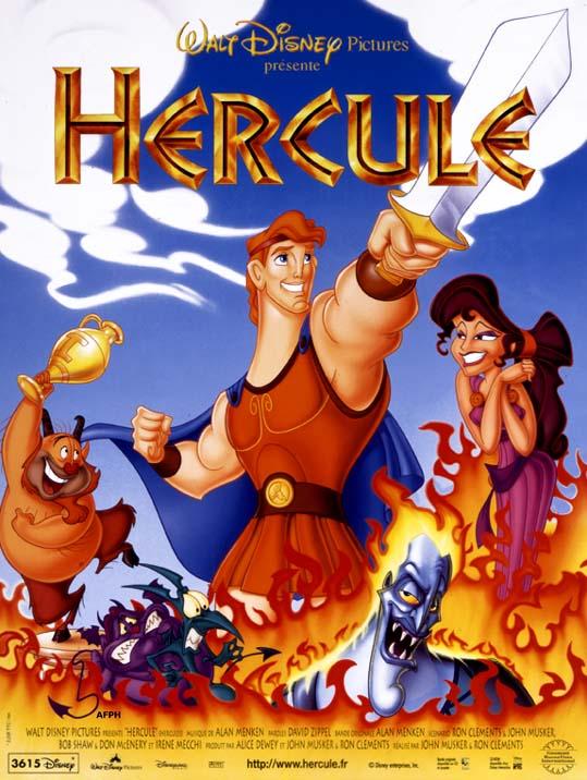 affiche du film Hercule (1997)