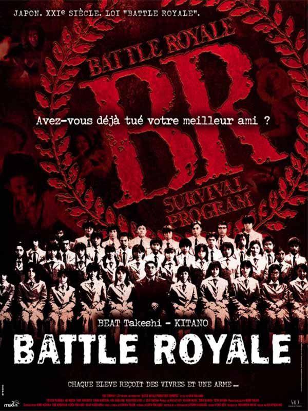 affiche du film Battle Royale