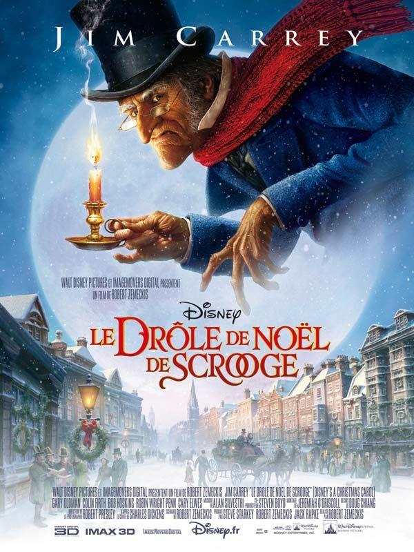 affiche du film Le Drôle de Noël de Scrooge