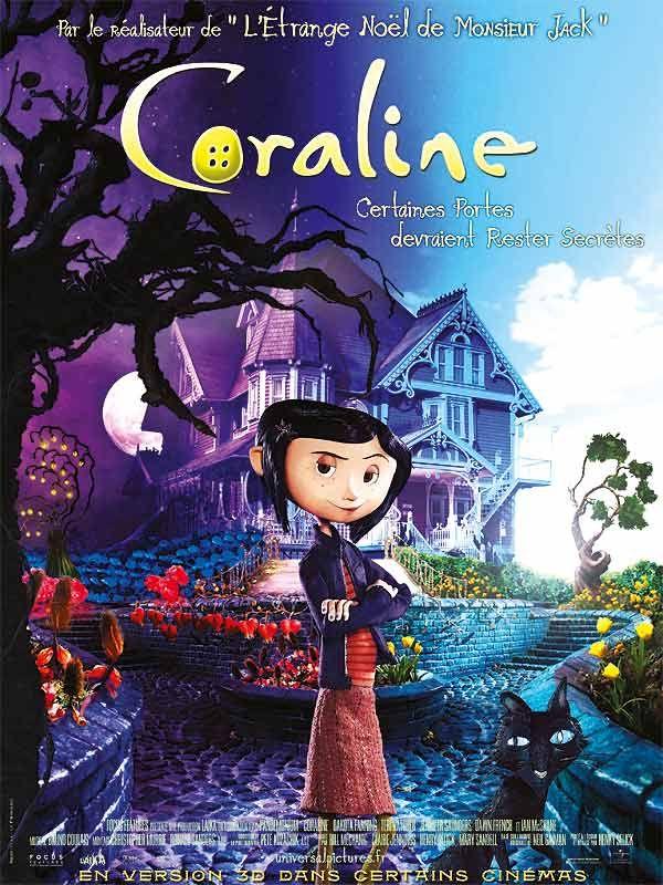 affiche du film Coraline