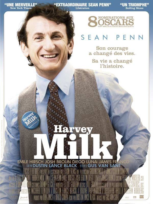 affiche du film Harvey Milk