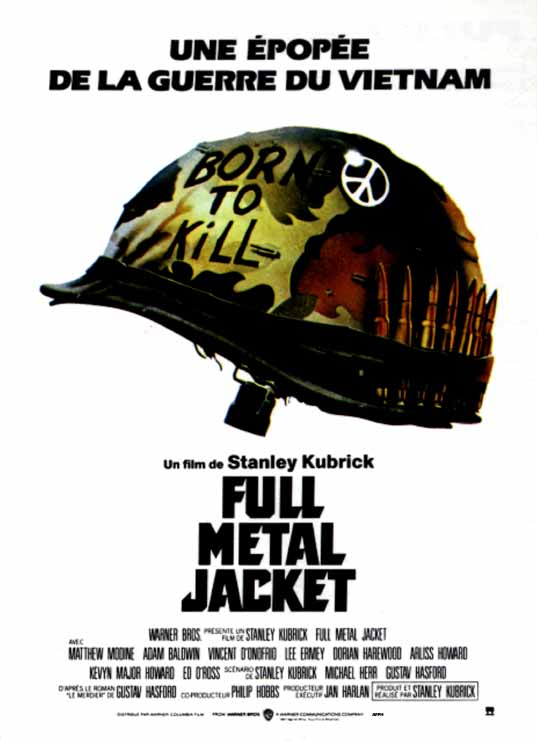 affiche du film Full Metal Jacket